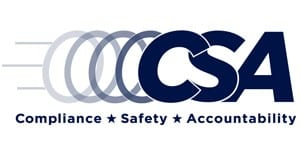 Federal Motor Carrier Safety Administration (FMCSA) CSA LOGO