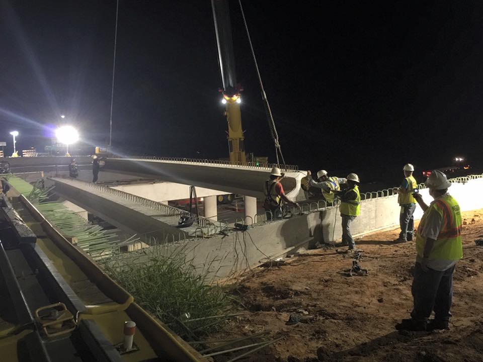 BOSS Crane Bridge Work