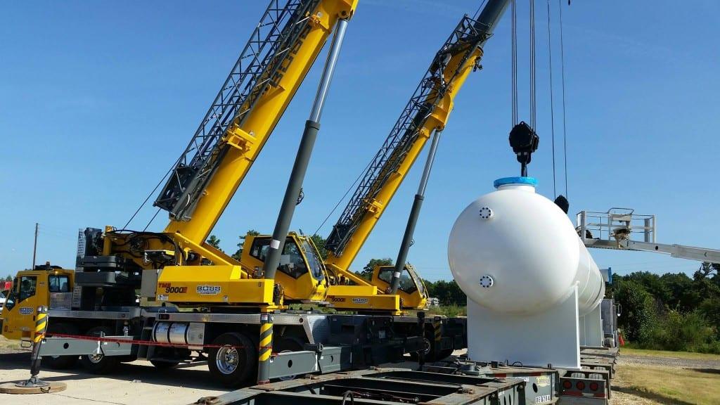 BOSS 9000 Crane 110 ton lift in Longview, Tx