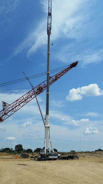 BOSS Grove 550 ton and Grove 165 ton