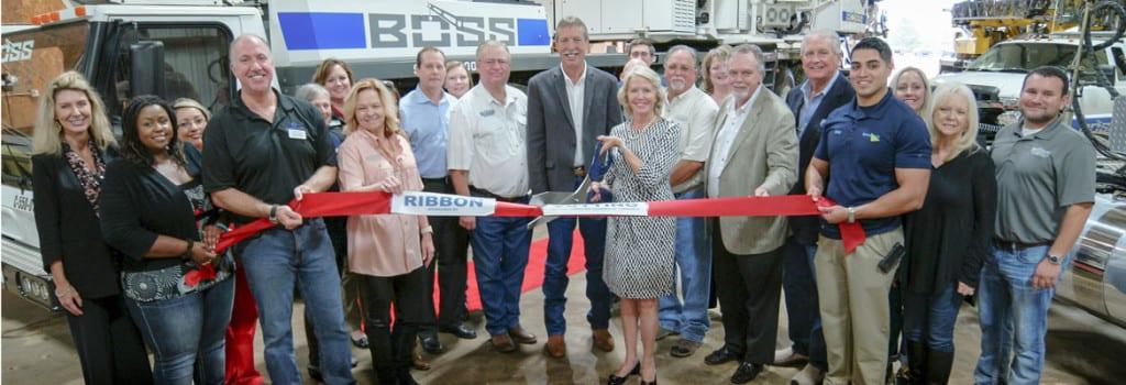 BOSS Crane & Rigging Longview, TX Ribbon Cutting