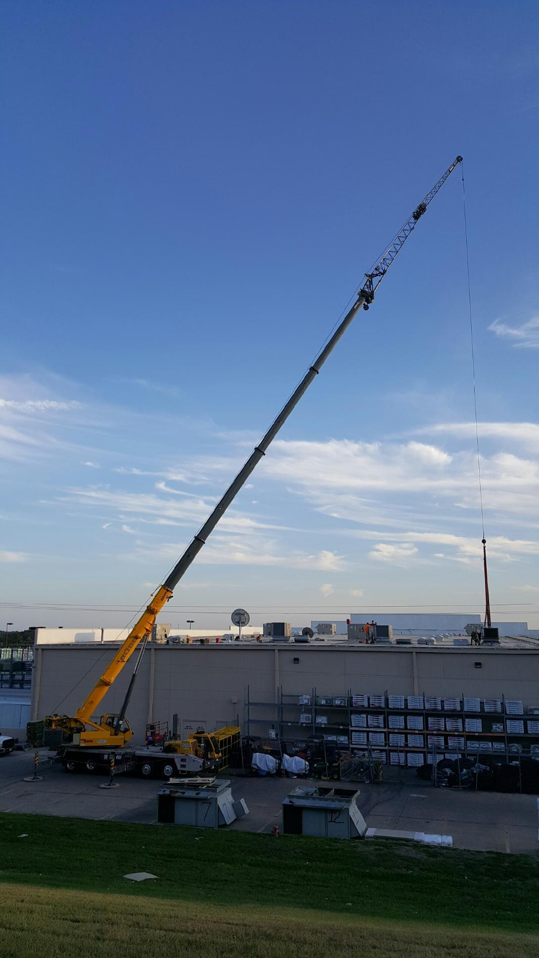 Construction Services BOSS Crane Rigging