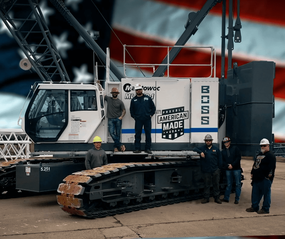 BOSS Crane's Newest Crawler is Proudly Made in the USA - BOSS Crane