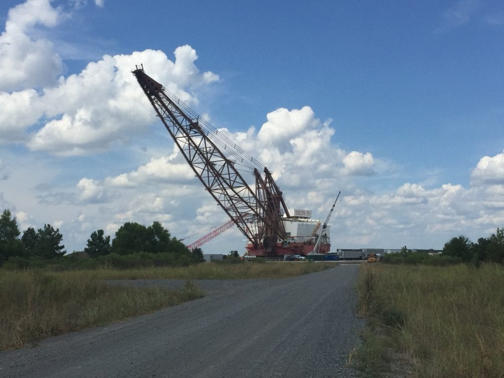 Warfab Dragline Job