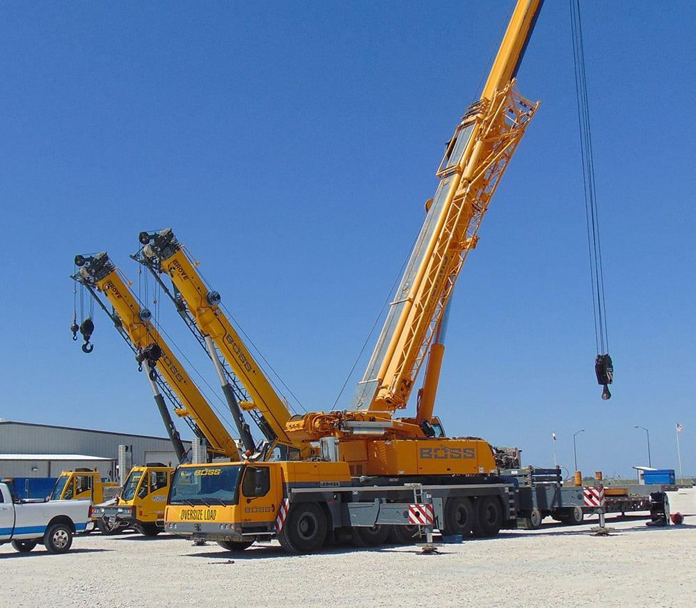 Liebherr LTM 1220/5 2 - 265 Tons - BOSS Crane & Rigging